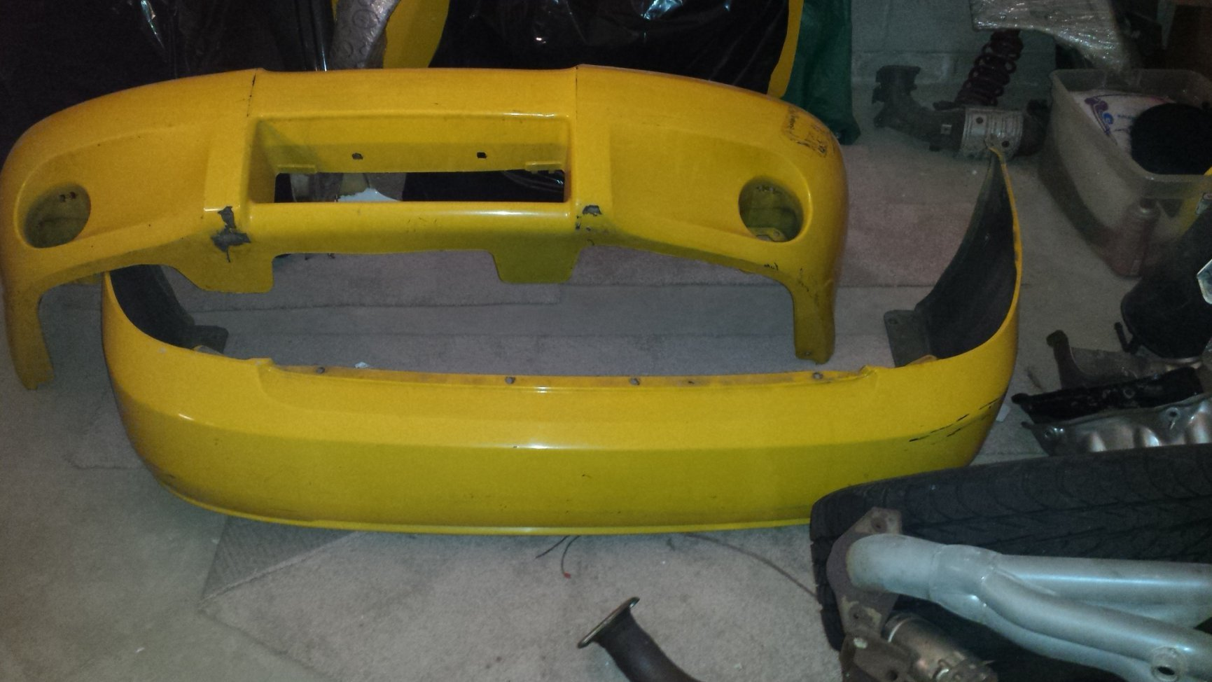 02-06 2003 Nissan Sentra SE-R limited edition Bumpers and ...