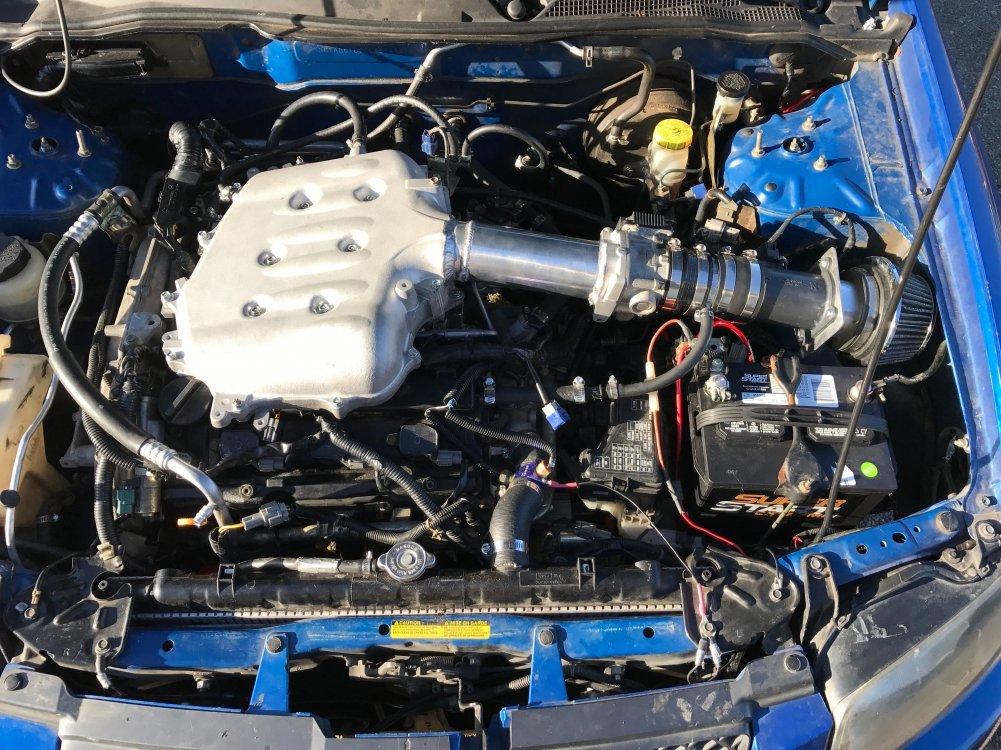 VQ35DE: 350z Plenum Install