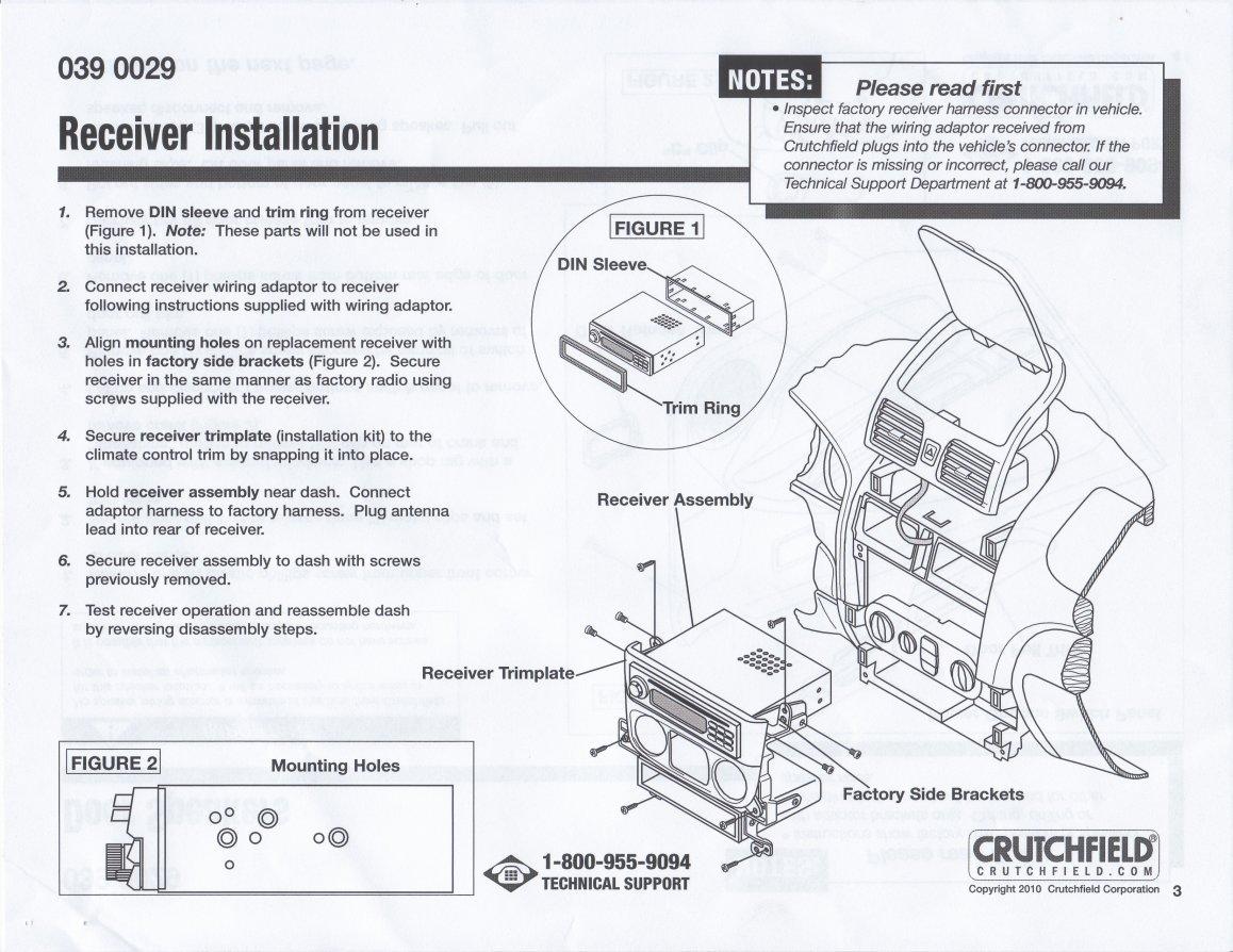 2000-2006 Sentra Crutchfield Master Sheet