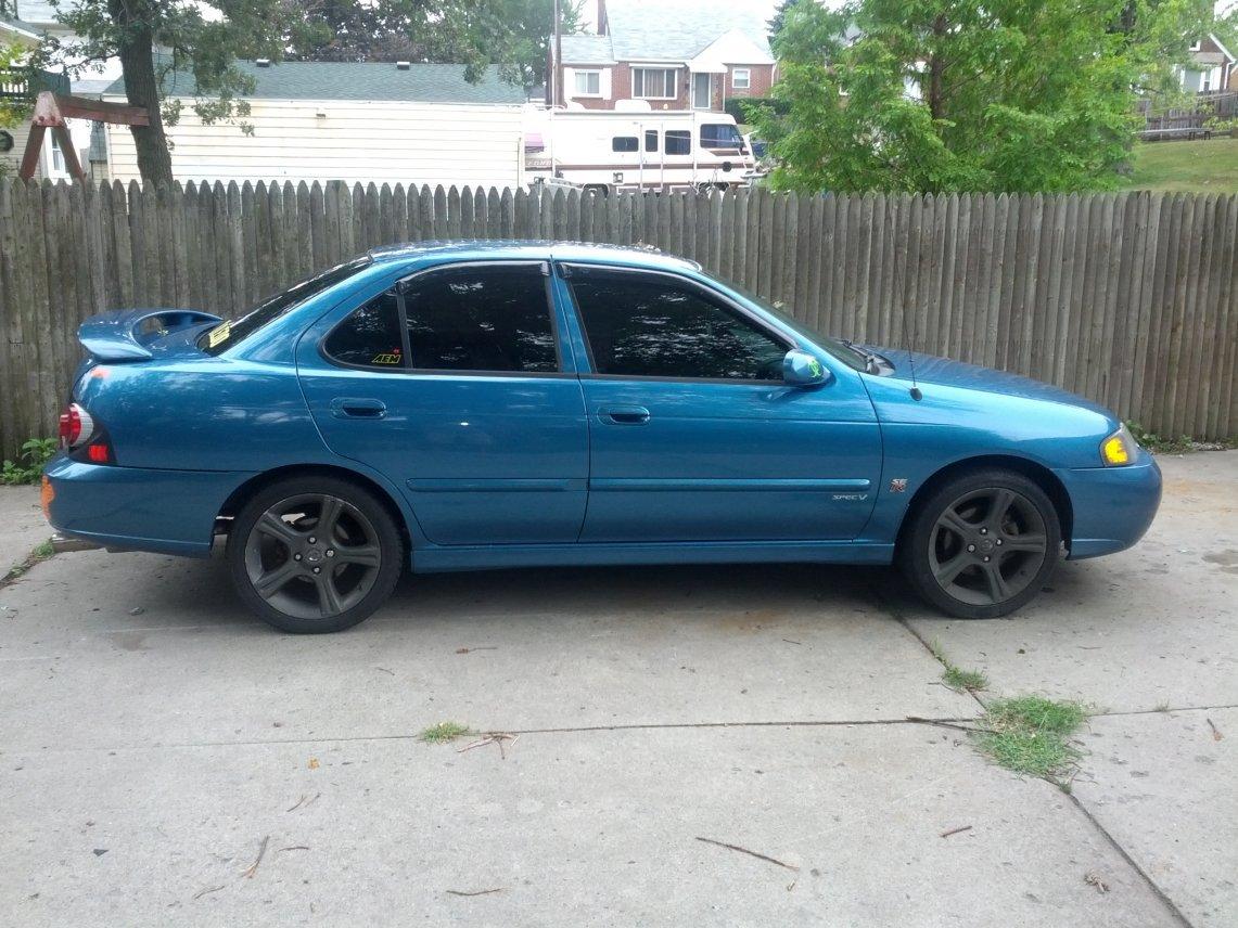 02-03 2003 nissan sentra spec-v blue with 115k $5500