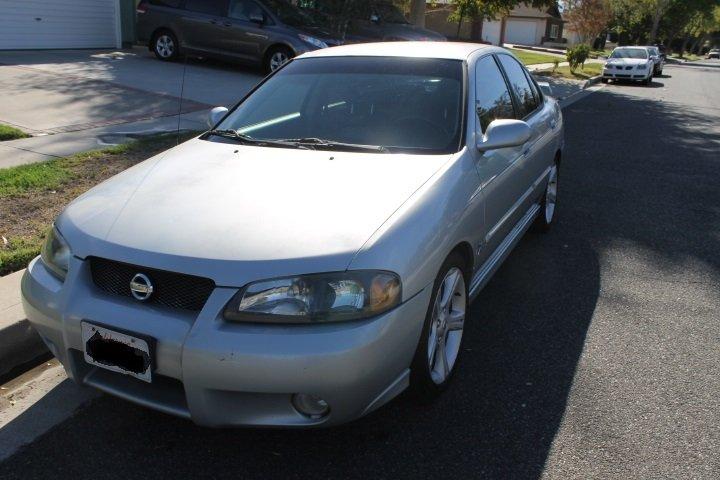 FS: 2003 Nissan Sentra SE-R Spec-V 2.5L Silver 184,900mi ...