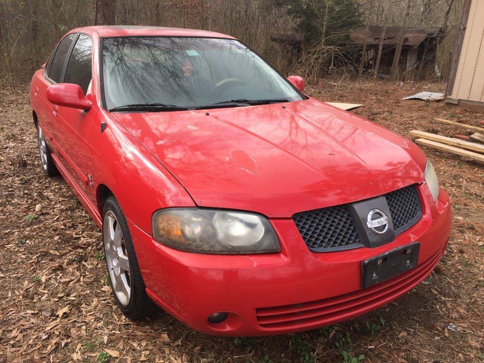 Part Out: 2004 Nissan Sentra Se-r Spec V Red/Good Tranny ...