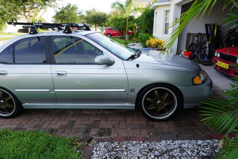 F S 2002 Nissan Sentra Spec V Boosted Florida
