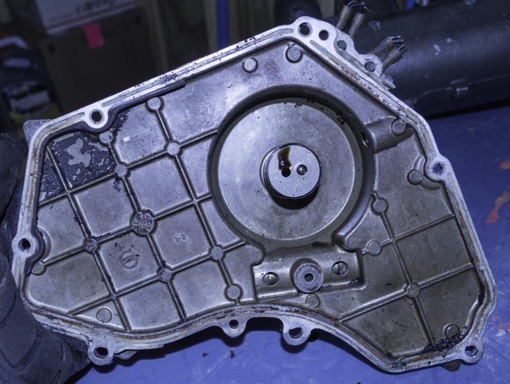 QR25DE FS: Timing Chain Cover Oil Pump for 02-06 Nissan 2 ...
